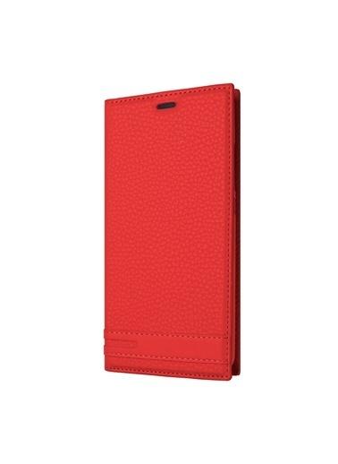 Microsonic Huawei Mate 20 Lite Kılıf Gizli Mıknatıslı Delux  Kırmızı